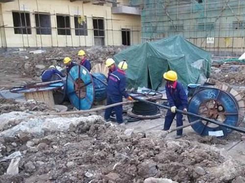 商场电线电缆敷设项目